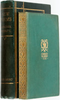 Books:Literature Pre-1900, Christina Rossetti. New Poems. London: Macmillan and Co.,1896. [together with:] Poems. London: The ... (Total: 2Items)