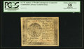 Colonial Notes:Continental Congress Issues, Continental Currency April 11, 1778 $40 Contemporary CounterfeitPCGS Apparent Choice About New 58.. ...