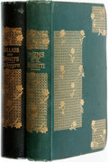 Books:Literature Pre-1900, Dante Gabriel Rossetti. Poems [and:] Ballads andSonnets. London: Ellis & White, 1881 and 1882.... (Total: 2Items)