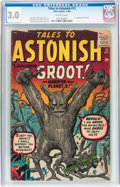Silver Age (1956-1969):Science Fiction, Tales to Astonish #13 (Marvel, 1960) CGC GD/VG 3.0 Off-whitepages....