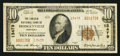 National Bank Notes:Kentucky, Hodgenville, KY - $10 1929 Ty. 2 The Lincoln NB Ch. # 13479. ...