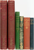 Books:Literature Pre-1900, [Pre-Raphaelites]. Dante Gabriel Rossetti. Group of Five Books, inSix Volumes. Various Publishers and dates. ... (Total: 6 Items)