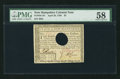 Colonial Notes:New Hampshire, New Hampshire April 29, 1780 $3 PMG Choice About Unc 58.. ...