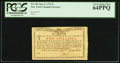 Colonial Notes:New York, New York January 6, 1776 (Water Works) 2s PCGS Very Choice New64PPQ.. ...
