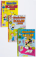 Bronze Age (1970-1979):Cartoon Character, Richie Rich and Dollar the Dog File Copy Group of 53 (Harvey,1977-82) Condition: Average NM-.... (Total: 53 Comic Books)
