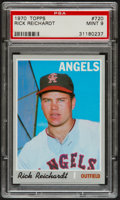 Baseball Cards:Singles (1970-Now), 1970 Topps Rick Reichardt #720 PSA Mint 9....