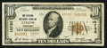 National Bank Notes:Tennessee, Athens, TN - $10 1929 Ty. 2 The Citizens NB Ch. # 10735. ...