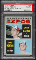 Baseball Cards:Singles (1970-Now), 1970 Topps Expos Rookies #109 PSA Mint 9....