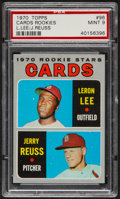 Baseball Cards:Singles (1970-Now), 1970 Topps Cards Rookies #96 PSA Mint 9....