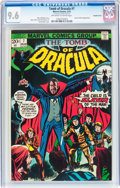Bronze Age (1970-1979):Horror, Tomb of Dracula #7 Double Cover (Marvel, 1973) CGC NM+ 9.6Off-white to white pages....