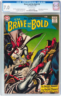 Silver Age (1956-1969):Adventure, The Brave and the Bold #18 (DC, 1958) CGC FN/VF 7.0 Off-white pages....