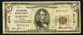National Bank Notes:Virginia, Hampton, VA - $5 1929 Ty. 1 The Merchants NB Ch. # 6778. ...