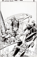 Original Comic Art:Covers, Rich Buckler and Al Milgrom Targitt #3 Cover Original Art(Atlas/Seaboard, 1975)....