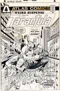 Original Comic Art:Covers, Larry Lieber and Frank Giacoia Weird Suspense #2 CoverOriginal Art (Atlas/Seaboard, 1975)....