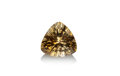 Gems:Faceted, GEMSTONE: CITRINE - 12.32 CT.. Stone Source: South America.15.7 x 15.7 x 10.6 mm. ...