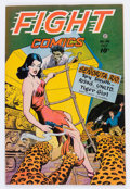 Golden Age (1938-1955):War, Fight Comics #46 (Fiction House, 1946) Condition: VG....