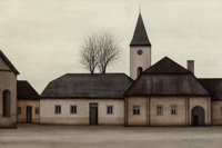 JACQUES DEPERTHES (French, b. 1936) Renik: W. Lipnicy Poland, 1969 Oil on canvas 38-1/2 x 58 inch