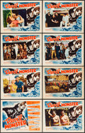 "Movie Posters:Adventure, Devil Monster (Louis Weiss, 1946). Lobby Card Set of 8 (11"" X 14"").Adventure.. ... (Total: 8 Items)"