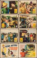 """Movie Posters:Western, Comin' Round the Mountain (Republic, 1936). Lobby Card Set of 8 (11"""" X 14""""). Western.. ... (Total: 8 Items)"""