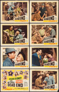 "Movie Posters:Crime, Dead End (Film Classics Inc., R-1944). Lobby Card Set of 8 (11"" X 14""). Crime.. ... (Total: 8 Items)"