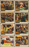 "Movie Posters:Western, The Desperadoes (Columbia, 1943). Lobby Card Set of 8 (11"" X 14""). Western.. ... (Total: 8 Items)"