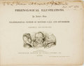 Books:Art & Architecture, [Featured Lot]. George Cruikshank. INSCRIBED. PhrenologicalIllustrations, or an Artist's View of Craniological System o...