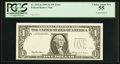 Error Notes:Foldovers, Fr. 1925-K $1 1999 Federal Reserve Note. PCGS Choice About New 55.....