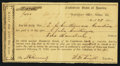 Confederate Notes:Group Lots, Interim Depository Receipt Selma, AL- $400 March 29, 1864 TremmellAL-158.. ...