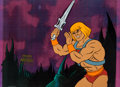 Animation Art:Production Cel, He-Man and the Masters of the Universe Production Cel(Filmation, 1983).... (Total: 2 Items)