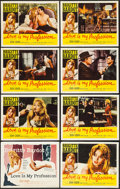 "Movie Posters:Sexploitation, Love is My Profession (Kingsley International, 1959). Lobby CardSet of 8, Title Lobby Card, & Lobby Cards (3) (11"" X 14""). ...(Total: 12 Items)"