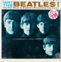 Music Memorabilia:Recordings, Meet The Beatles Sealed Mono LP (Capitol T 2047, 1964)....