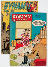 Dynamic Comics #17 and 22 Group (Chesler, 1946-47).... (Total: 2 Comic Books)