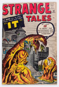 Silver Age (1956-1969):Horror, Strange Tales #82 (Marvel, 1961) Condition: FN/VF....