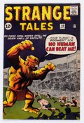 Silver Age (1956-1969):Horror, Strange Tales #98 (Marvel, 1962) Condition: FN/VF....