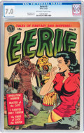 Golden Age (1938-1955):Horror, Eerie #5 (Avon, 1952) CGC FN/VF 7.0 Off-white to white pages....