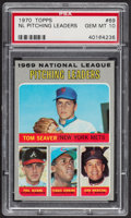 Baseball Cards:Singles (1970-Now), 1970 Topps NL Pitching Leaders #69 PSA Gem Mint 10....