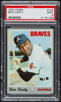 Baseball Cards:Singles (1970-Now), 1970 Topps Rico Carty #145 PSA Mint 9....