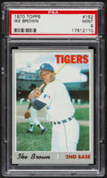 Baseball Cards:Singles (1970-Now), 1970 Topps Ike Brown #152 PSA Mint 9....