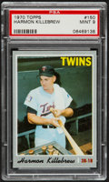 Baseball Cards:Singles (1970-Now), 1970 Topps Harmon Killebrew #150 PSA Mint 9....