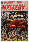 Silver Age (1956-1969):Mystery, Journey Into Mystery #73 (Atlas, 1961) Condition: VG+....