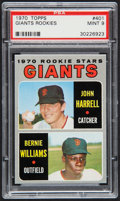Baseball Cards:Singles (1970-Now), 1970 Topps Giants Rookies #401 PSA Mint 9....