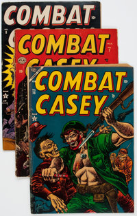 Combat Casey Group of 22 (Atlas, 1953-57) Condition: Average GD.... (Total: 22 Comic Books)