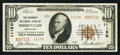 National Bank Notes:Wisconsin, Sheboygan, WI - $10 1929 Ty. 2 The Security NB Ch. # 11150. ...