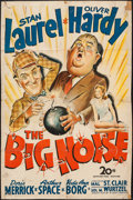 "Movie Posters:Comedy, The Big Noise (20th Century Fox, 1944). One Sheet (27"" X 41"").Comedy.. ..."
