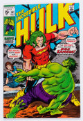 Bronze Age (1970-1979):Superhero, The Incredible Hulk #141 (Marvel, 1971) Condition: VF-....