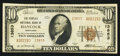 National Bank Notes:Maryland, Hancock, MD - $10 1929 Ty. 2 The Peoples NB Ch. # 13853. ...