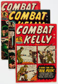 Golden Age (1938-1955):War, Combat Kelly #2-44 Near Complete Range Group of 33 (Atlas, 1952-57) Condition: Average GD/VG.... (Total: 33 Comic Books)