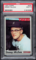 Baseball Cards:Singles (1970-Now), 1970 Topps Denny McLain #400 PSA Mint 9....