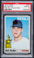 Baseball Cards:Singles (1970-Now), 1970 Topps Bill Butler #377 PSA Gem Mint 10 - Pop One....