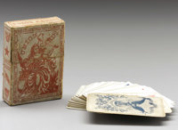 """Civil War Playing Cards. A nice complete set with original box. """"Union Cards"""" by the American Card Co. """"T..."""